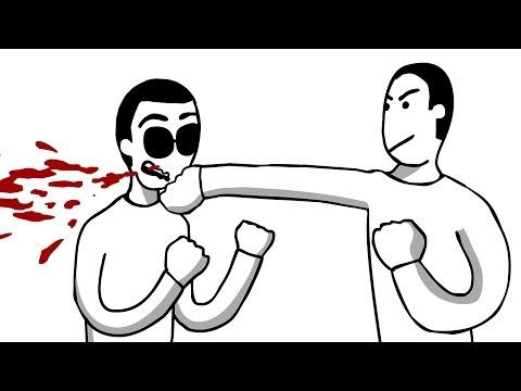 Уличные бои мультфильм