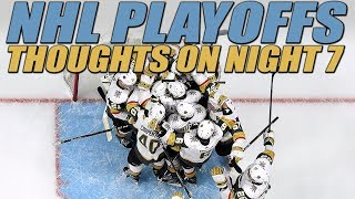 Thoughts on Night 7 of the NHL Playoffs