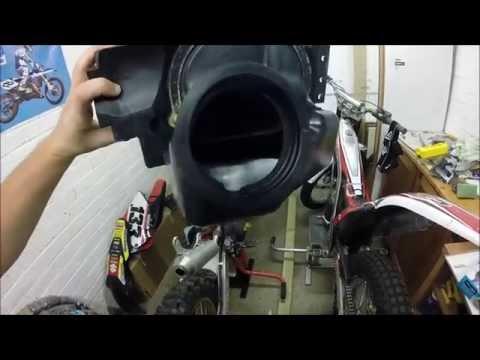 How to clean a motocross air box