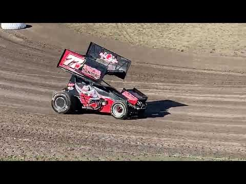 Heart O' Texas open practice - with Sprint Car Bandits driver Will Eggimann