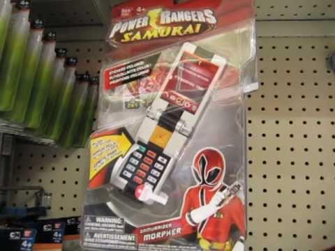Power Ranger Samurai Toys! Retro Fire Megazords (March 2011)