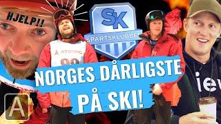 Erik Follestad tvinger Jon Martin til å stå slalom!