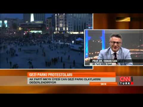 Osman Can: 'Protestolar ciddi bir fırsat'