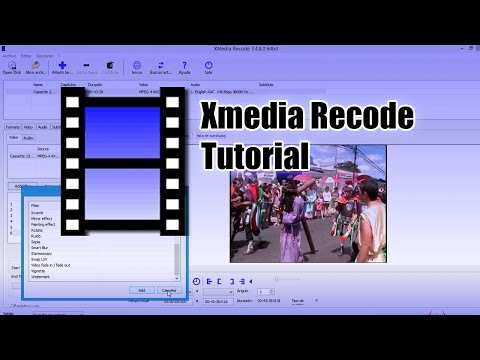 Xmedia Recode:  El Tutorial