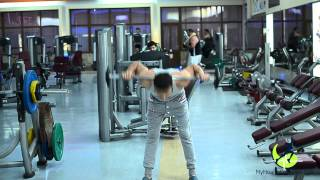 Fitness lessons - Stiff Leg Barbell lower back | УРОКИ ФИТНЕС | HEALTHY LIFE by myhealthcomplex.com