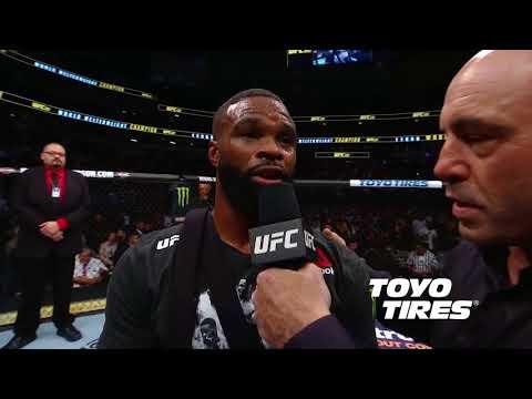 UFC 228: Tyron Woodley and Darren Till Octagon Interviews