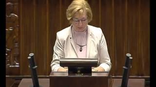 Genowefa Tokarska - wystąpienie z 11 czerwca 2015 r.