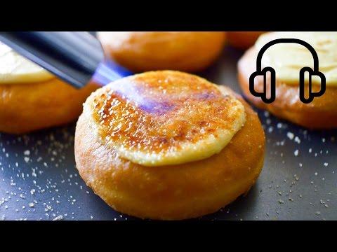 クレームブリュレドーナッツの作り方
