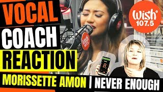 😇 Morissette Amon Reaction | Never Enough | Wish 107.5 reaction video | Wish Bus
