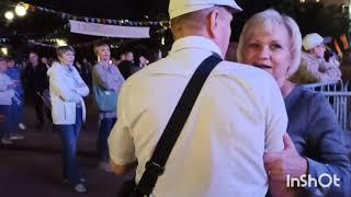 Танцы продолжаются на Театральной площади 💃август 22 воскресенье #танцы#праздник#Калуга650