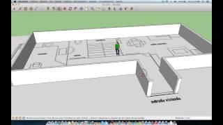 Como Modelar Objetos Con Planos De Planta En Google SketchUp