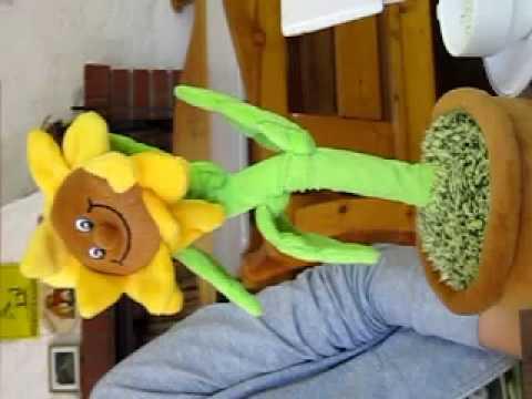 Singende Blume Happy Birthday