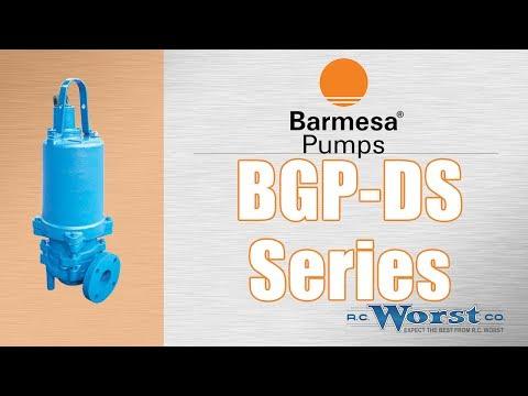 Barmesa BGP-DS Submersible Grinder Pumps