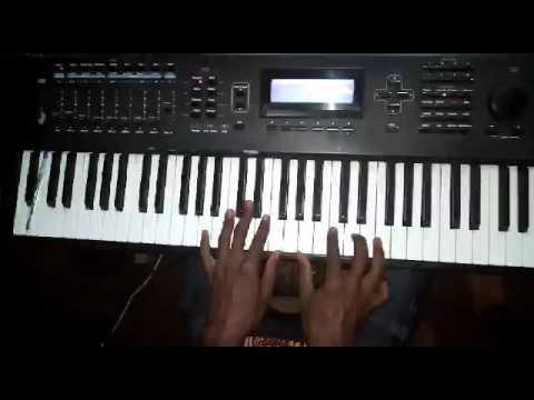 Piano tutorial on Nothing Without You by Dr. Tumi in Key F