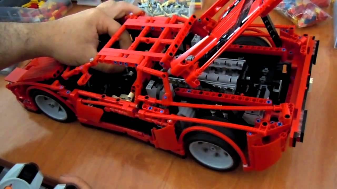 Lego Technic Testarossa Youtube