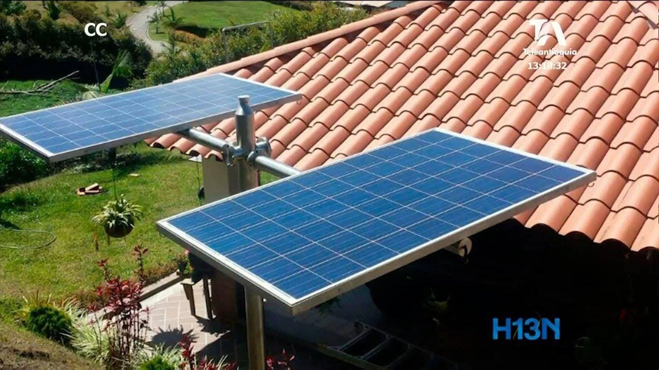 A Traves De Epm Hogares Antioquenos Podran Instalar Paneles Solares Youtube