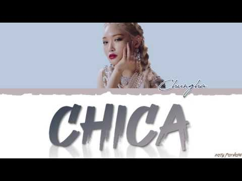 CHUNGHA 청하 - &39;CHICA&39;  Color CodedHanRomEng