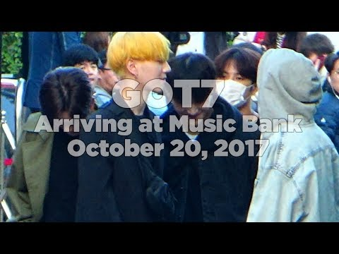 171020 GOT7 (갓세븐) arriving at Music Bank @Kpopmap