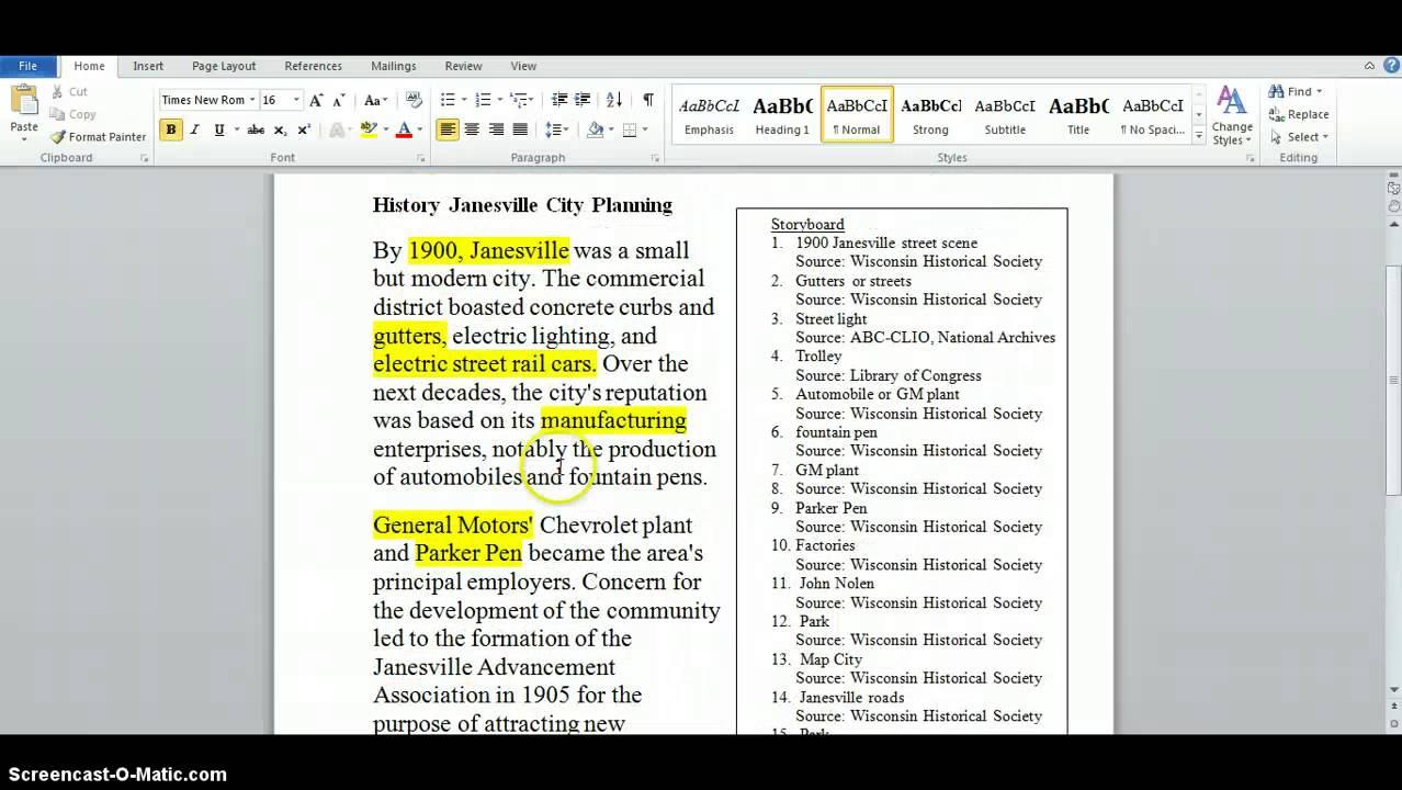 radio documentary script examples