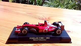 F1 FERRARI COLLECTION ANNI 2000 FERRARI F2002 2002 MICHAEL SCHUMACHER