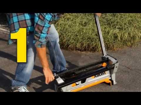 WORX WX060 Portable Clamping Workstand - UK English - www.worx.com