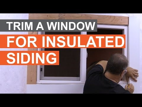 how-to-trim-a-window-with-insulated-siding