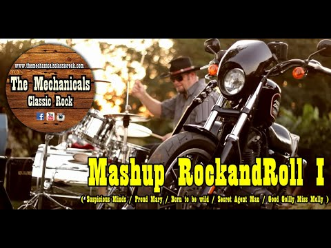 Mashup Rock and roll - Suspicius Minds/ Proud Mary/ Born to be Wild -