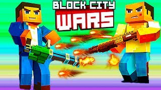 - Беспредел в BLOCK CITY WARS Пиксельная игра новое видео как игры ГТА и МАЙНКРАФТ