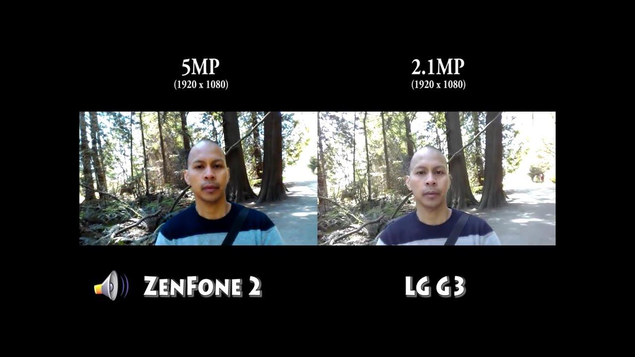 ZenFone 2 4GB RAM Vs LG G3