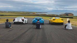 Lexus LFA, Porsche GT3 & Ferrari 812 Superfast - Take Your Pick!?