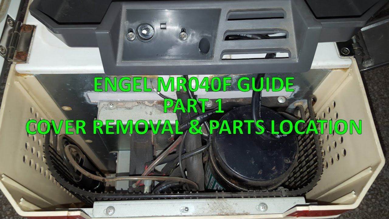 ENGEL MR040F GUIDE - PART 1 - COVER REMOVAL / PARTS LOCATION