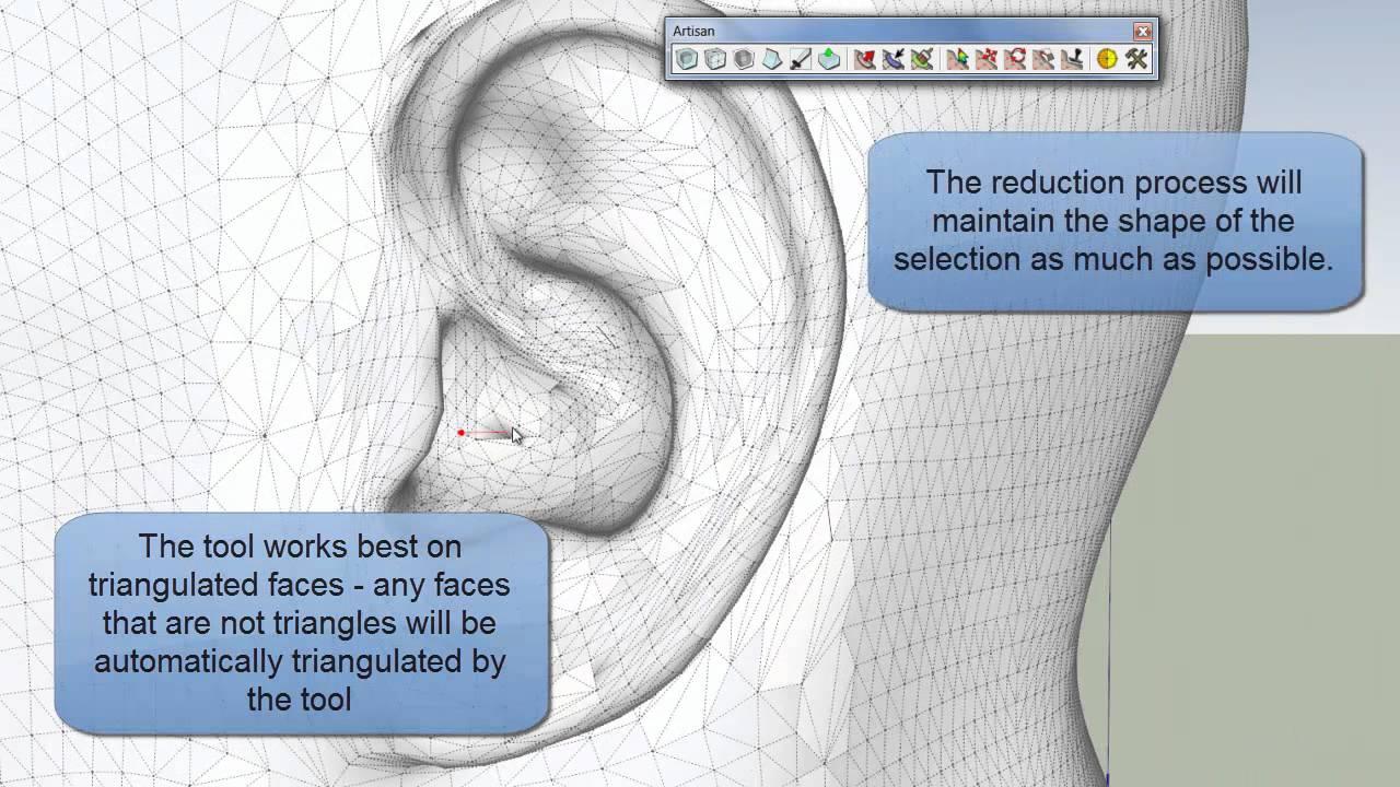 Documentation – Artisan Organic Toolset for SketchUp