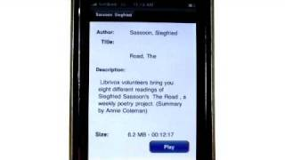 iPhone apps - Audiobooks (Download Edition)