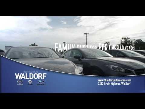 Waldorf VW/Subaru/Mazda's New, Pre-owned & Service Commercials