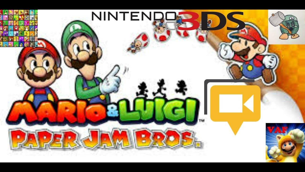 Papercraft BigMarioFan100's Live Event #16 (Mario & Luigi: Paper Jam Bros. Boss Battles & Papercraft Battles)