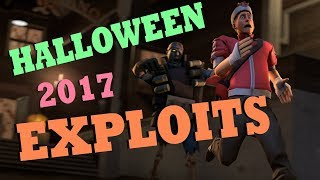 TF2 - Halloween 2017 Exploits