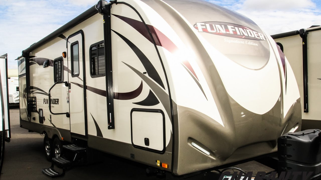 2017 Cruiser RV Fun Finder 265 RBSS Travel Trailer Video ...