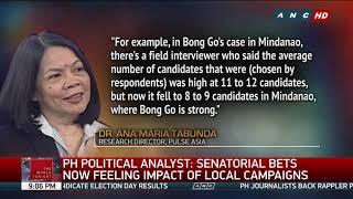 Villar, Poe share top spot in latest Pulse Asia survey | ANC