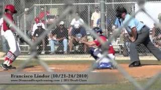 Francisco Lindor (10-21-24-2011) WWBA World Championship (Jupiter, Fla.)