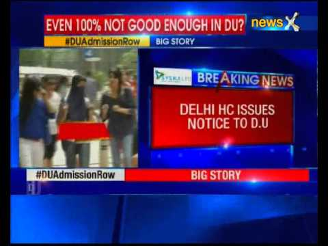 Kerala student scored 100% marks, denied admission in Delhi University