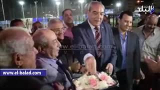 بالفيديو والصور : افتتاح نادي نقابة المهندسين بالمنيا الجديدة