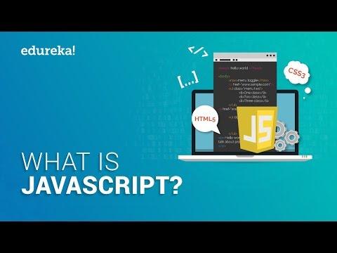 What is JavaScript? | JavaScript Tutorial for Beginners | JavaScript Training | Edureka thumbnail