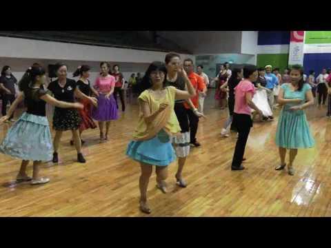 Solo恰恰  高雄市常春土風舞協會2016港都秋之舞-世界傳統土風舞教學觀摩會成果展示A079-Solo恰恰_Kaohsiung Chang-Chuen Folk Dance Association