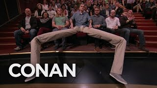 There's A Manspreader In The Audience!  - CONAN on TBS thumbnail