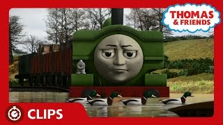 Duck's Rocky Rescue   Clips   Thomas & Friends