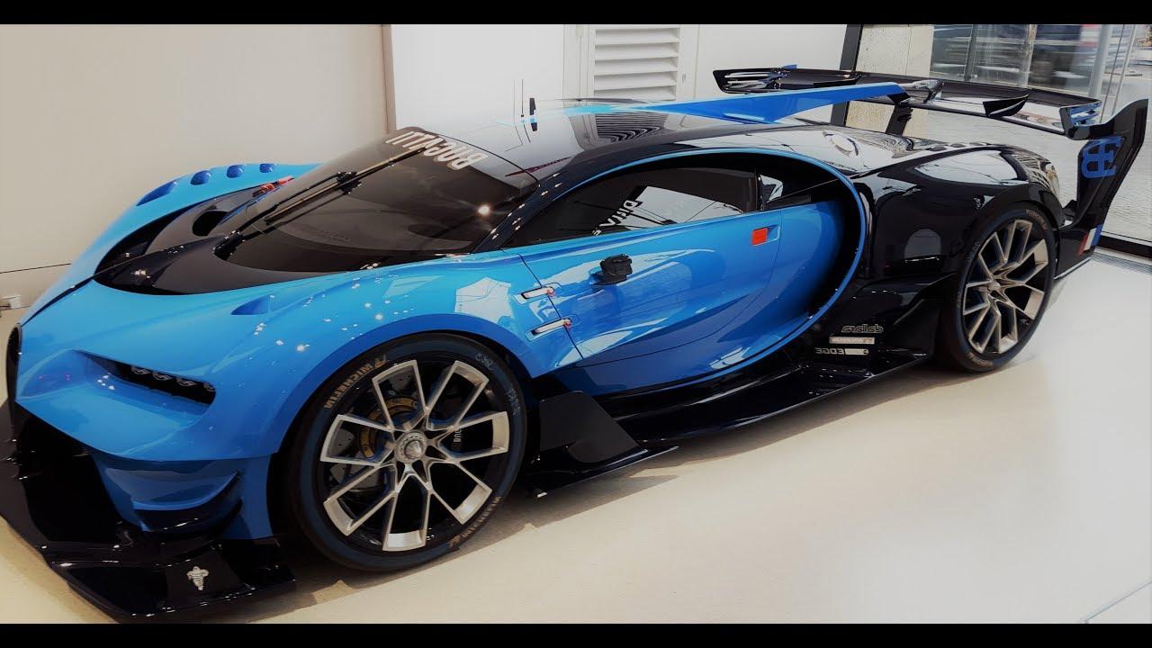 Bugatti vision gran turismo interior