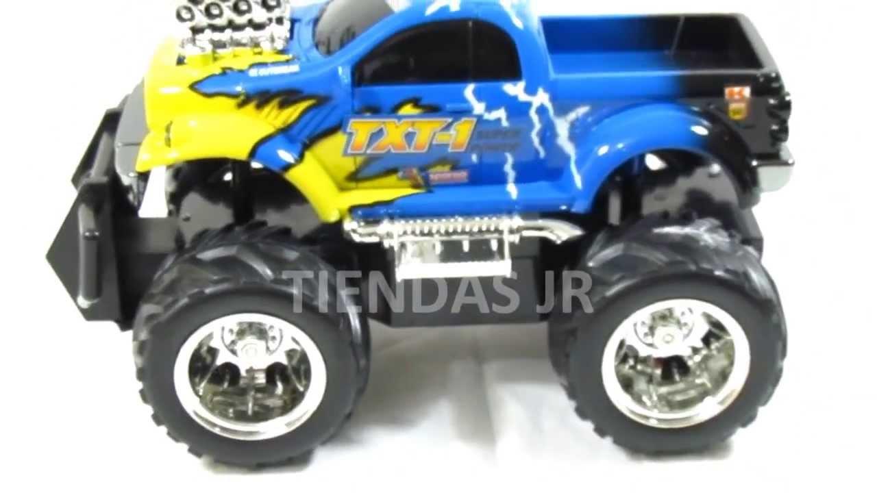Carro Control Remoto Camioneta Monster Truck Juguete Para Ninos