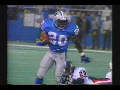 Chicago Bears at Detroit Lions 1997 Week14