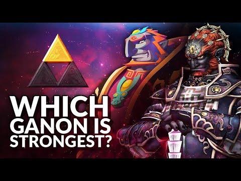 Which Ganondorf is strongest? (Ranking the Ganons from Legend of Zelda)