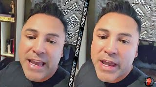 "OSCAR DE LA HOYA REACTS TO LOPEZ BEATING LOMACHENKO ""I CANT WAIT TO MAKE TEOFIMO VS RYAN GARCIA!"